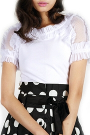 Gracia Ruffle Sleeve t-Shirt - Front cropped