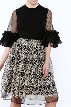 Gracia Ruffle Sleeve Top - Product List Image