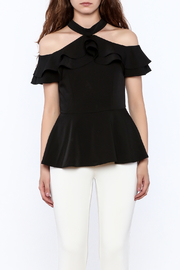 Gracia Ruffle Sleeveless Top - Side cropped