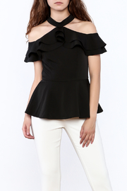Gracia Ruffle Sleeveless Top - Product Mini Image