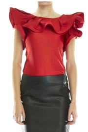 Gracia Ruffle Top - Product Mini Image