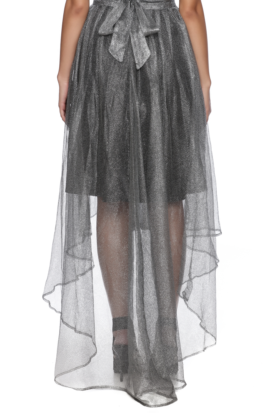 7877879774 Gracia Silver Tulle Skirt from Guilford by A s Unique Boutique ...