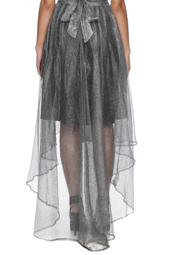 Gracia Silver Tulle Skirt - Alternate List Image