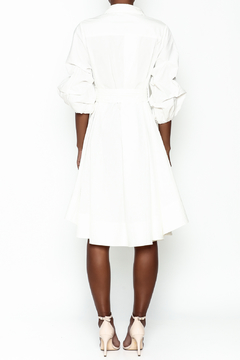 Gracia White High Low Dress - Alternate List Image
