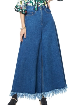 Shoptiques Product: Wide-Leg Denim Pants