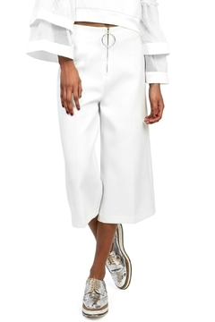 Gracia White Wide Pants - Alternate List Image