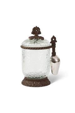 Gracious Goods Small Canister With Scoop - Alternate List Image