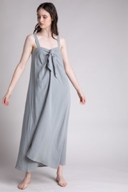 Grade & Gather  Dried Thyme Dress - Front cropped