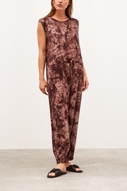 Grade & Gather  Tie Dye Jumpsuit - Front cropped