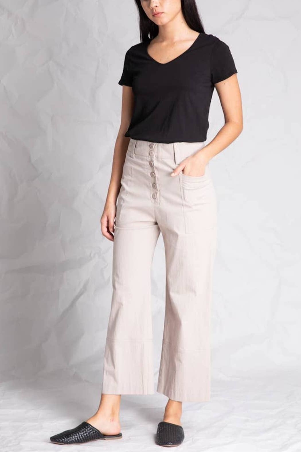Grade and Gather Bianca Button Pant - Main Image