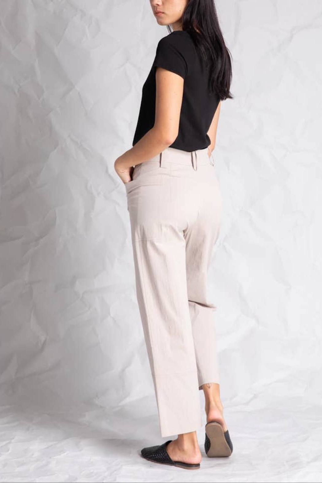 Grade and Gather Bianca Button Pant - Front Full Image