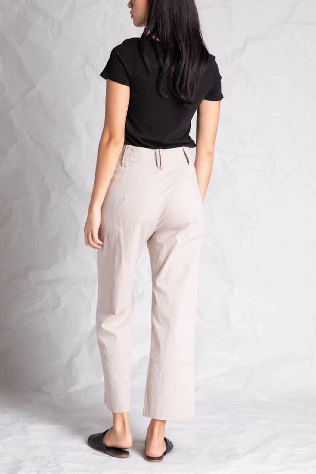 Grade and Gather Bianca Button Pant - Side Cropped Image