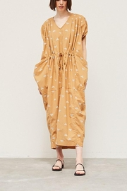 Grade and Gather Drawstring Cocoon Dress - Product Mini Image