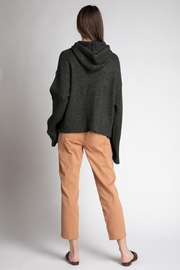 Grade and Gather Knit Olive Sweater - Front full body