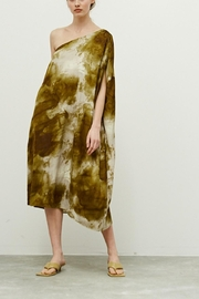Grade and Gather One Shoulder Dress - Front cropped