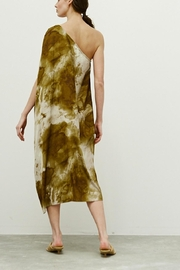 Grade and Gather One Shoulder Dress - Front full body