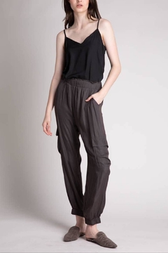 Grade and Gather Satin Jogger Pant - Product List Image
