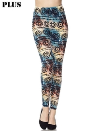 New Mix Gradiant Print Legging - Front cropped