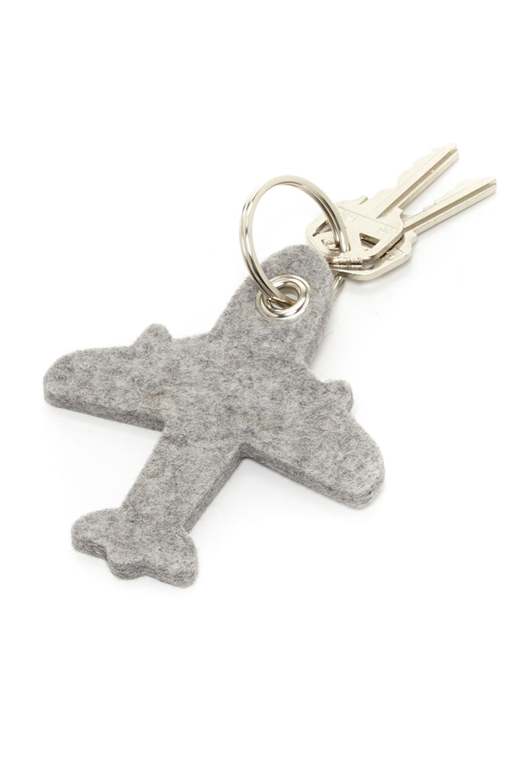 Graf & Lantz Felt Airplane Key Ring - Main Image