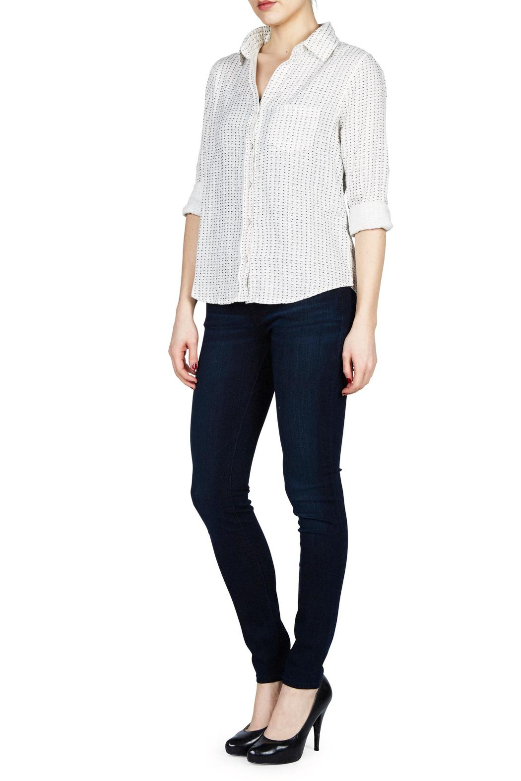 Graham & Spencer Royanna Button Up - Front Cropped Image