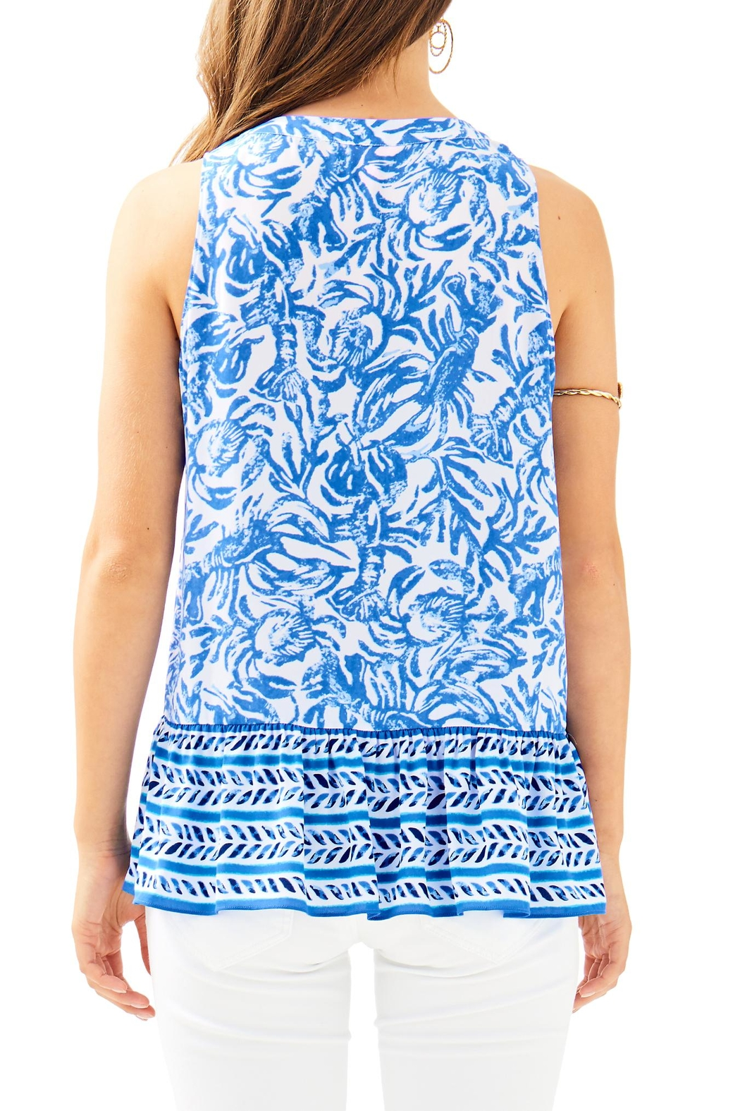 Lilly Pulitzer Gramercy Top - Front Full Image