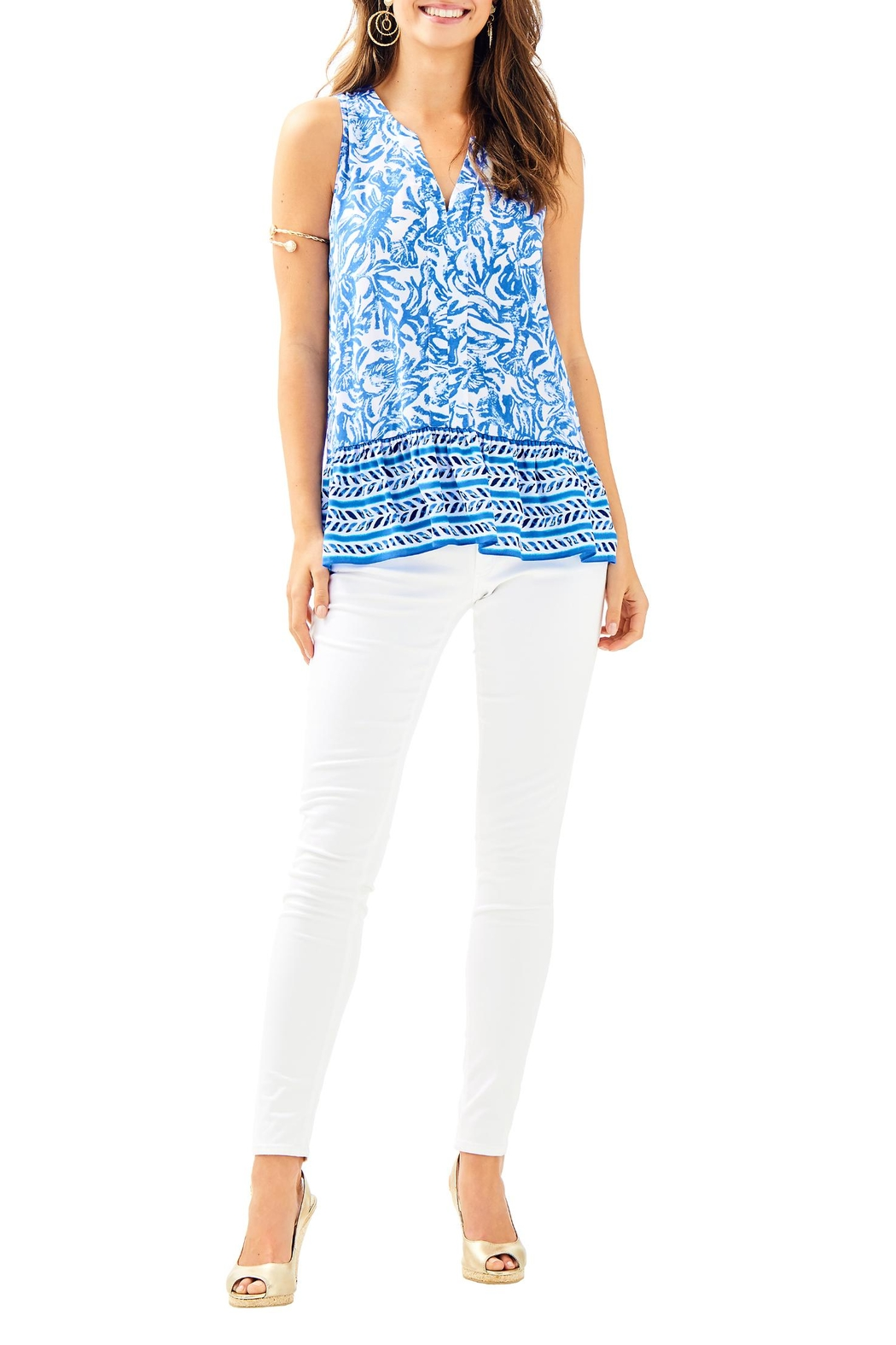 Lilly Pulitzer Gramercy Top - Side Cropped Image