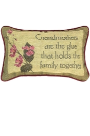MWW Gramma Word-Pillow - Front cropped