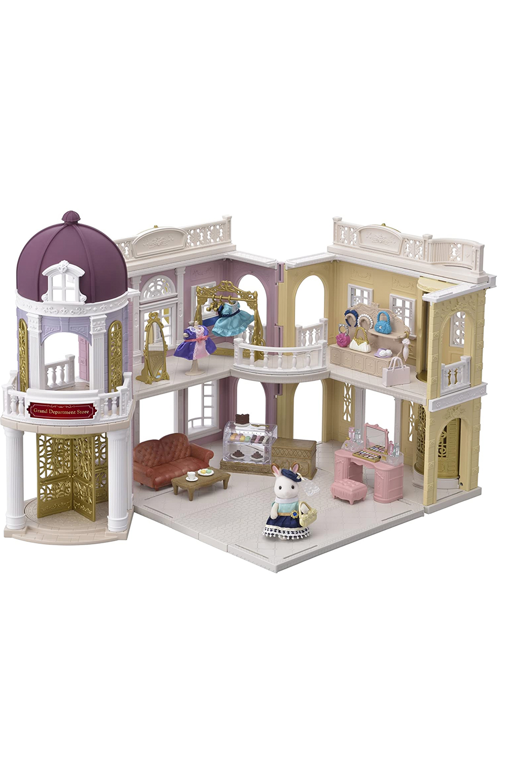 Calico Critters Grand Department Store Gift Set - Front Full Image
