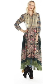 Aratta Grand Duchess Maxi Shirt Washed Green - Product Mini Image