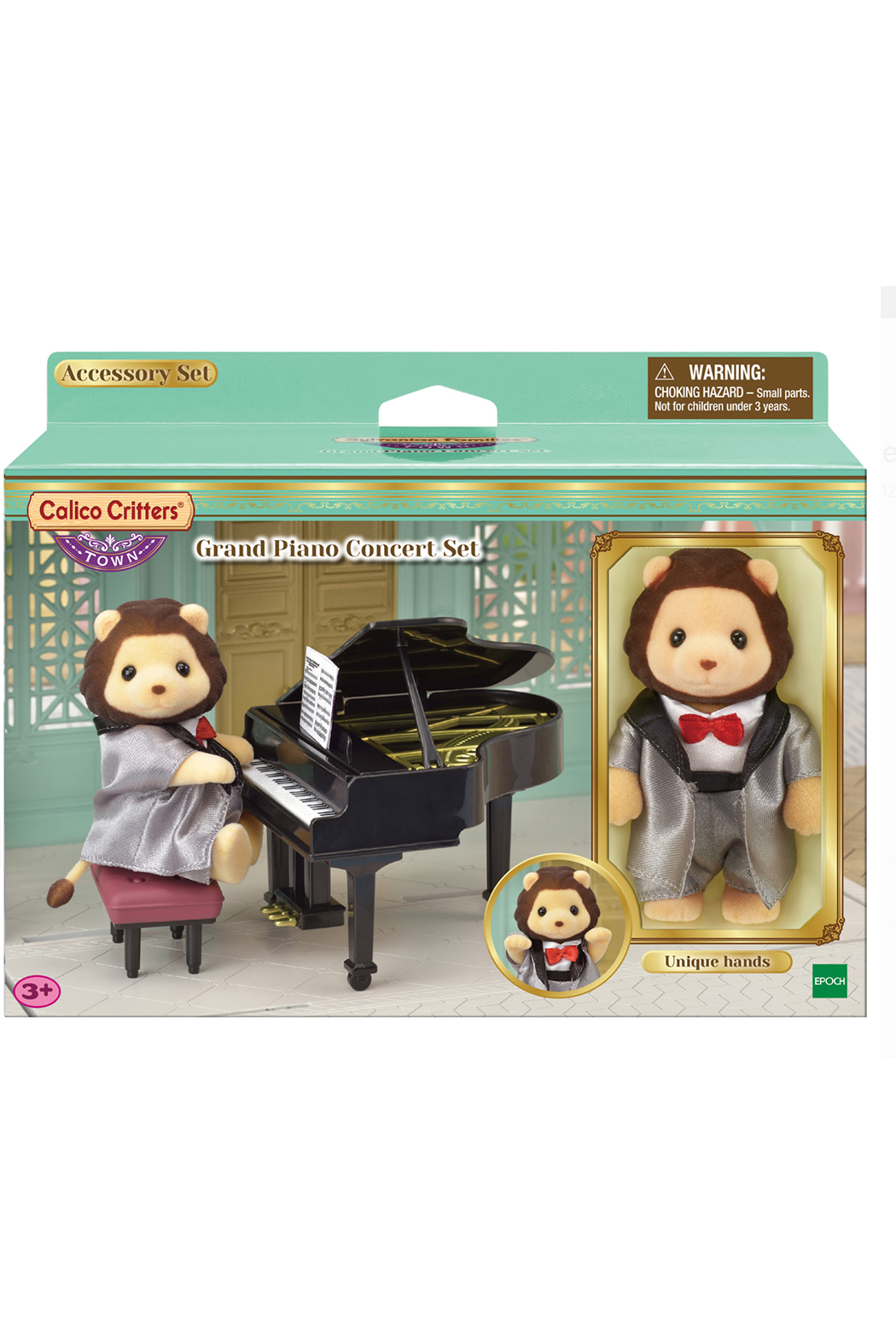Calico Critters Grand Piano Concert Set - Front Full Image