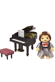 Calico Critters Grand Piano Concert Set - Front cropped