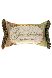 Manual Woodworkers and Weavers Grandchildren Pillow - Front cropped
