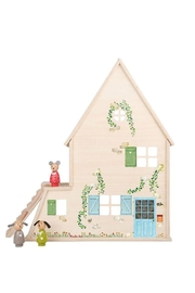 Moulin Roty Grande-Famille Dollhouse - Back cropped