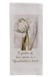 Park Designs Grandmother's Heart Dish Towel - Product Mini Image