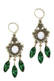 Grandmother's Buttons Etoile Earrings - Product Mini Image