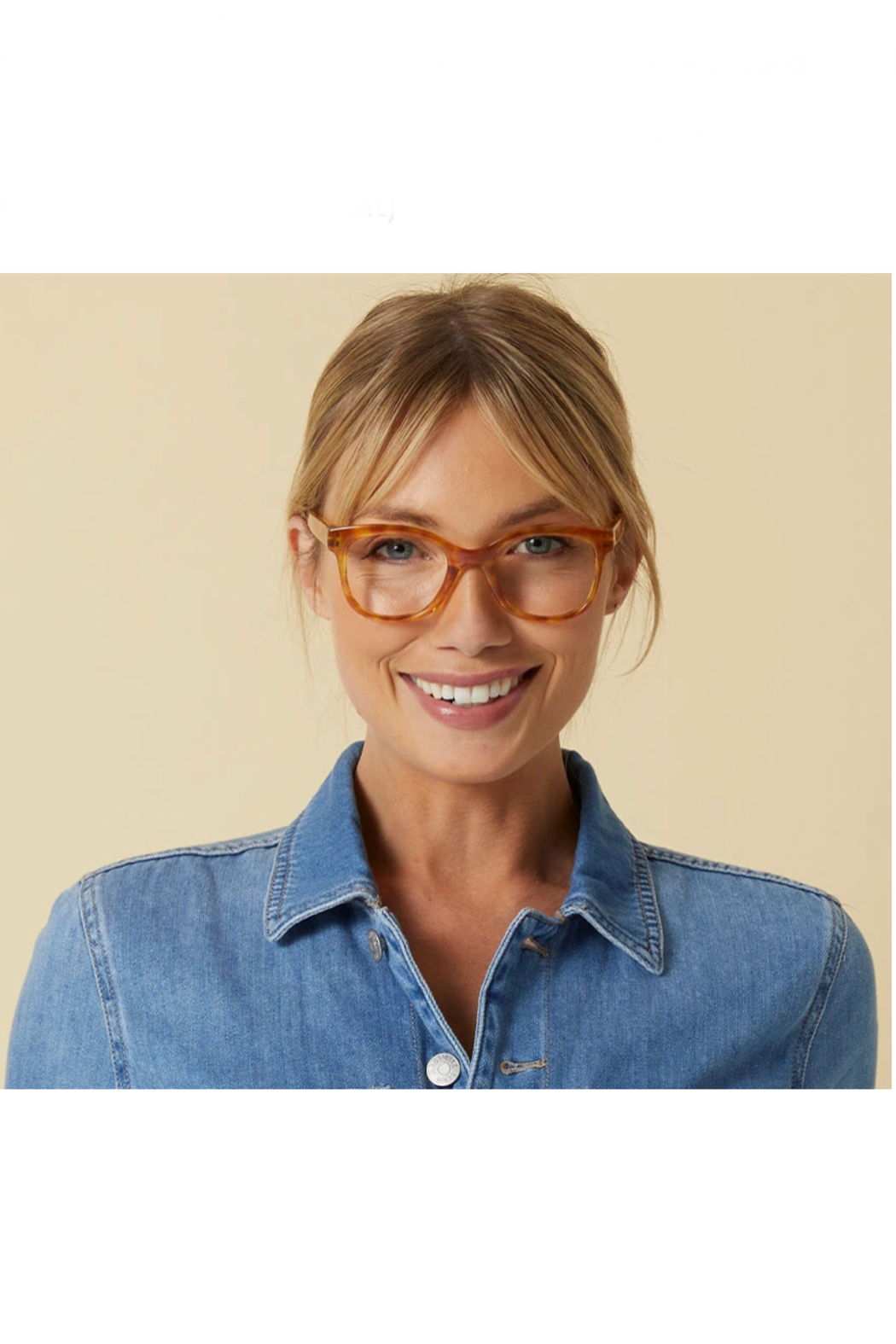 Peepers  Grandview Blue-Light Filtering Reading Glasses - Back Cropped Image