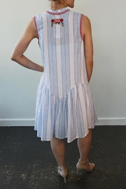 Johnny Was Grange Linen Dress - Front full body