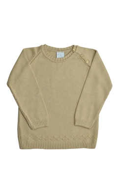 Granlei 1980 Beige Knit Sweater - Alternate List Image
