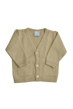 Shoptiques Product: Beige Knitted Sweater
