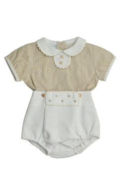 Shoptiques Product: Beige & White Outfit