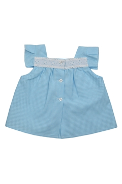 Granlei 1980 Blue Gingham Set - Alternate List Image