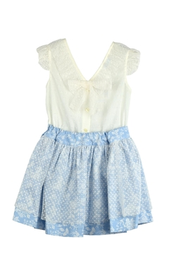 Granlei 1980 Blue & Ivory Outfit - Product List Image