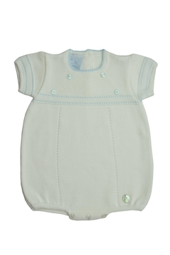 Granlei 1980 Blue Knit Onesie - Alternate List Image