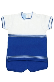 Granlei 1980 Blue & White Outfit - Product Mini Image