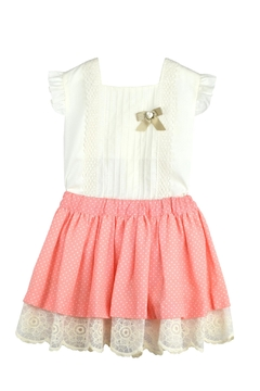 Granlei 1980 Coral & Ivory Outfit - Product List Image