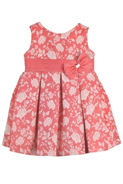 Granlei 1980 Floral Red Dress - Product List Image