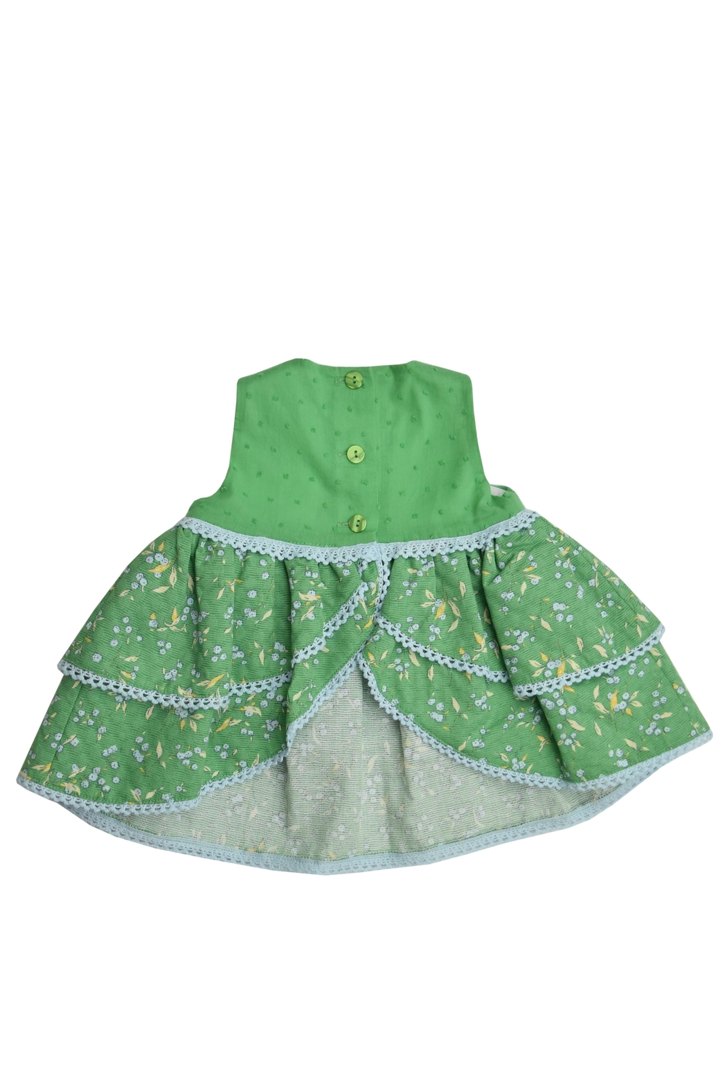 Granlei 1980 Green Dress Set - Side Cropped Image