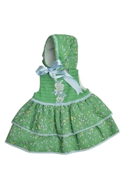 Granlei 1980 Green Dress Set - Front cropped