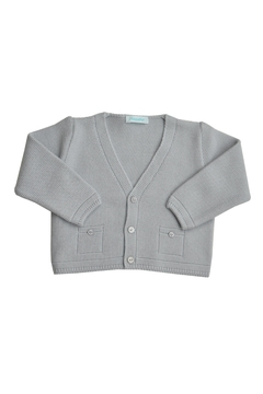 Shoptiques Product: Grey Knitted Sweater