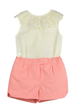 Granlei 1980 Ivory & Coral Outfit - Product List Image